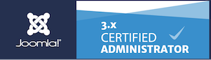 badge joomla certification program
